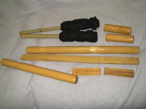 Bamboossage table set